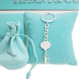 Tiffany & Co Key Charm pendant  Keychain key ring